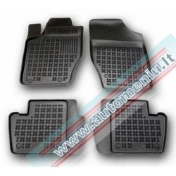 Citroen C4 I 2004 → 2010 be vietos gesintuvui Guminiai kilimėliai su borteliais