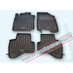 Citroen C1 2008 → Guminiai kilimėliai su borteliais