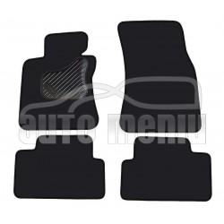 BMW 6 E63 / E64 2004 → Medžiaginiai veliūrinės dangos kilimėliai