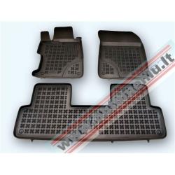 Honda Civic sedanas IX 2012 → Guminiai kilimėliai su borteliais