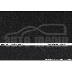 OPEL COMBO (krovininis) 2011 → Medžiaginiai veliūrinės dangos kilimėliai