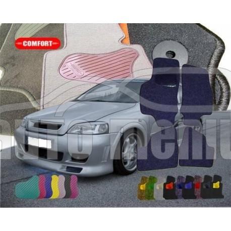 Tekstiliniai standartinės dangos kilimėliai Opel Astra G 1998-2003