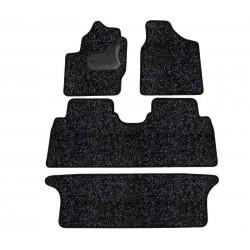 Tekstiliniai standartinės dangos kilimėliai Volkswagen Sharan 1996-2009 7-vietos