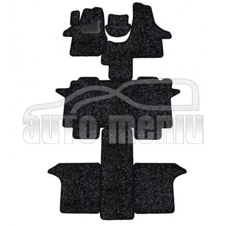 VOLKSWAGEN T5 MULTIVAN priekis 2 vietų 2003 → Medžiaginiai kilimėliai standartinės dangos