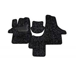 VOLKSWAGEN T5 CARAVELLE priekis 3 vietų 2003 → Medžiaginiai kilimėliai standartinės dangos