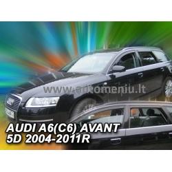 AUDI A6 (C6) 2004 → 2011 (+OT) Karavanas Langų vėjo deflektoriai keturioms durims