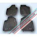Skoda Rapid 2012 → Guminiai kilimėliai su loveliu