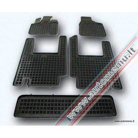 Chrysler Voyager IV 2001 → 2006 5 sėdynės Guminiai kilimėliai su borteliais
