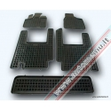 Chrysler Voyager 2006 → 7 sėdynės Guminiai kilimėliai su borteliais