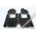 Chrysler Voyager V 2006 → 5 sėdynės Guminiai kilimėliai su borteliais