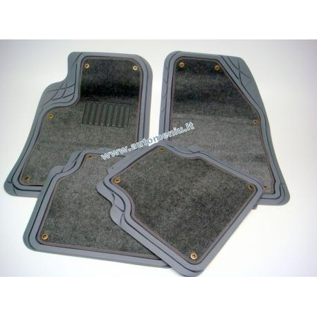 Pilki Guminiai kilimėliai (su isšegama medžiaga)