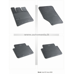 Audi Q7 2006 → 2014 Guminiai kilimėliai