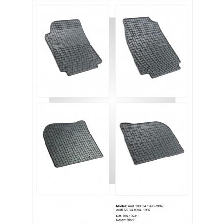 Audi 100/C4 1990 → 1994 Guminiai kilimėliai