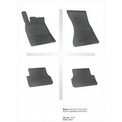 Audi A6 2011 → Guminiai kilimėliai