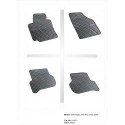 Volkswagen Golf V PLUS 2005 → Guminiai kilimėliai