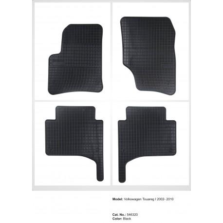 Volkswagen Touareg I 2002 → 2010 Guminiai kilimėliai