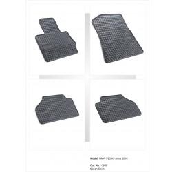 BMW X3 F25 2010 → Guminiai kilimėliai