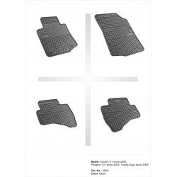 Citroen C1 2005 → 2014 Guminiai kilimėliai