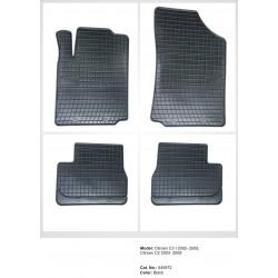 Citroen C3 I 2002 → 2009 Guminiai kilimėliai