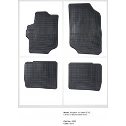 Citroen C-Elysee 2012 → Guminiai kilimėliai