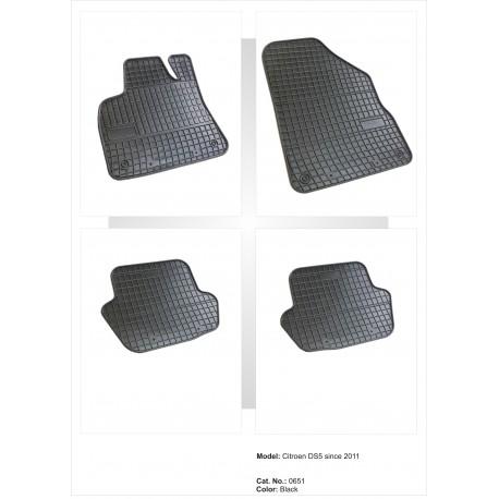 Citroen DS5 2011 → Guminiai kilimėliai