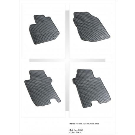 Honda Jazz III 2008 → 2013 Guminiai kilimėliai