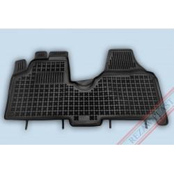 Citroen Jumpy II 2007 → versija su medžiaga ant grindų (priek.sustipr.pagr.vairuotojo pusėje) Guminiai kilimėliai su borteliais