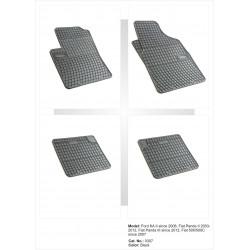 Ford KA II 2008 → Guminiai kilimėliai