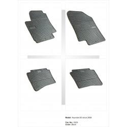 Hyundai i20 2008 → Guminiai kilimėliai