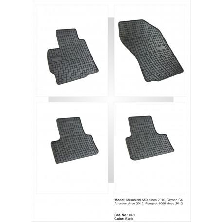 Mitsubishi ASX 2010 → Guminiai kilimėliai