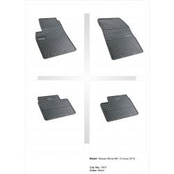 Nissan Micra MK13 2010 → Guminiai kilimėliai