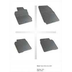 Nissan Note 2006 → Guminiai kilimėliai