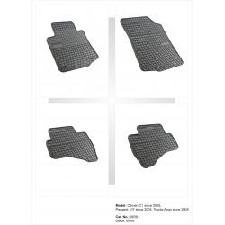 Peugeot 107 2005 → Guminiai kilimėliai