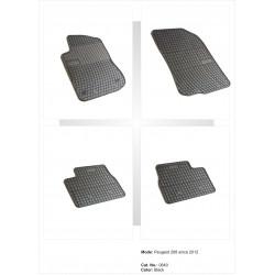 Peugeot 2008 2013 → Guminiai kilimėliai