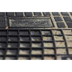 Renault Kangoo II 5 vietos 2008 → Guminiai kilimėliai