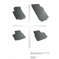 Skoda Citigo 2012 → Guminiai kilimėliai