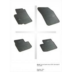 Suzuki Splash 2008 → Guminiai kilimėliai