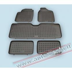 Seat Alhambra 1995 → 2010 7 sėdynės Guminiai kilimėliai su loveliu