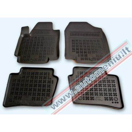 Hyundai i20 2008 → 2014 Guminiai kilimėliai su borteliais