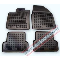 Nissan Qashqai 2007 → 2014 Guminiai kilimėliai su borteliais