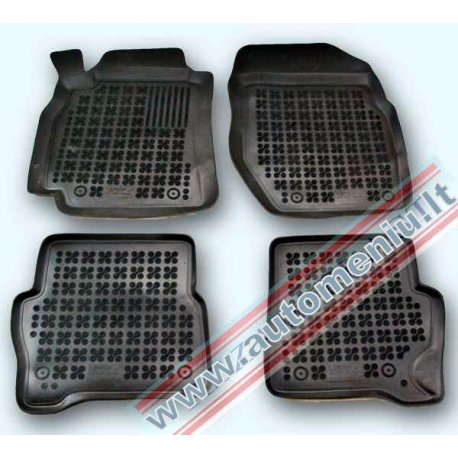 Nissan Almera II 2000 → 2006 Guminiai kilimėliai su borteliais