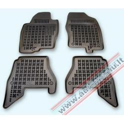 Nissan Pathfinder III 2005 → Guminiai kilimėliai su borteliais