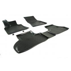 BMW X5 2013 → Guminiai kilimėliai 3D aukštais borteliais
