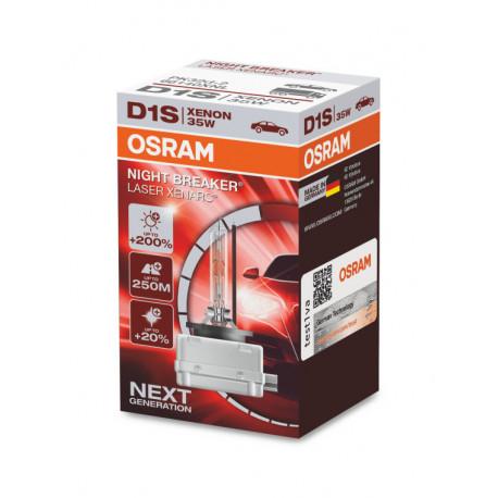 OSRAM D1S XENARC NIGHT BREAKER LASER Xenon automobilio lemputė