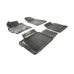 TOYOTA Corolla 2013 → Guminiai kilimėliai 3D aukštais borteliais