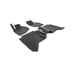 TOYOTA Hilux 2008 → 2015 Guminiai kilimėliai 3D aukštais borteliais