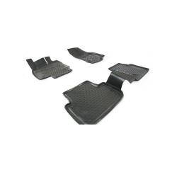 Volkswagen Tiguan 2017 → Guminiai kilimėliai 3D aukštais borteliais
