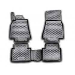 MERCEDES BENZ B T245 2005 → Guminiai kilimėliai 3D aukštais borteliais