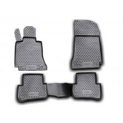 MERCEDES BENZ C W204 2007 → 2014 Guminiai kilimėliai 3D aukštais borteliais