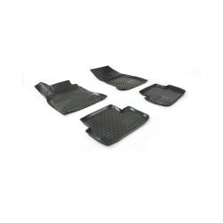 MERCEDES BENZ CLA 2013→ Guminiai kilimėliai 3D aukštais borteliais